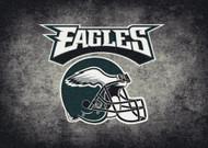 Philadelphia Eagles Distressed Rug