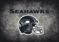 Seattle Seahawks Distressed Rug
