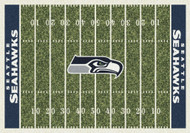 Seattle Seahawks Home Field Rug