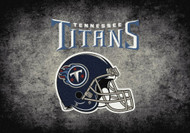 Tennessee Titans Distressed Rug