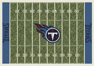 Tennessee Titans Home Field Rug