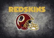 Washington Redskins Distressed Rug