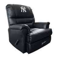 New York Yankees Faux Leather Rocker
