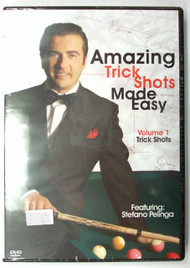 Amazing  Trick Shots Made Easy featuring Stefano Pelinga