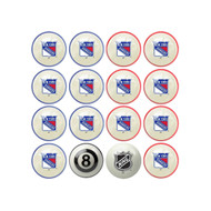 NEW YORK RANGERS® HOME VS. AWAY BILLIARD BALL SET