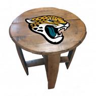 Jacksonville Jaguars  Oak Barrel Table