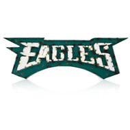 Philadelphia Eagles Lighted Recycled Metal Sign