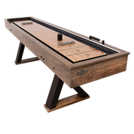American Legend Kirkwood 9' LED Light Up Shuffleboard Table with Bowling