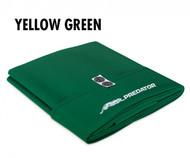 Predator Arcadia Select Yellow Green Pool Table Cloth