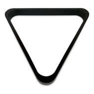 Deluxe Wood Pool Ball Triangle Rack, Black