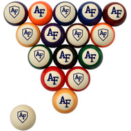 Air Force Falcons Billiard Ball Set - Standard Colors