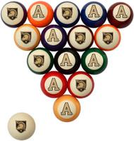 Army Black Knights Billiard Ball Set - Standard Colors