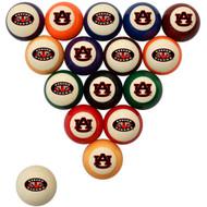 Auburn Tigers Billiard Ball Set - Standard Colors