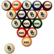 Baylor Bears Billiard Ball Set - Standard Colors