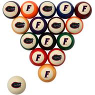Florida Gators Billiard Ball Set - Standard Colors