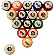 Florida State Seminoles Billiard Ball Set - Standard Colors