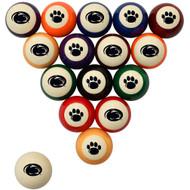 Penn State Nittany Lions Billiard Ball Set - Standard Colors
