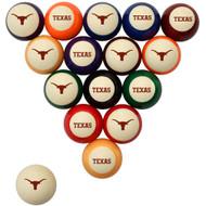 Texas Longhorns Billiard Ball Set - Standard Colors