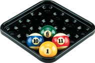 Action Black Plastic Pool Ball Tray BBBT
