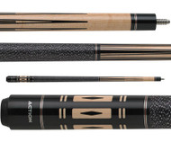 Action Pool Cue ACT47 Maple w/ Black Accents