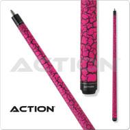 Action Pool Cues VAL15 Pink Crackle