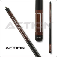 Action Pool Cue VAL22 White Frames - Brown