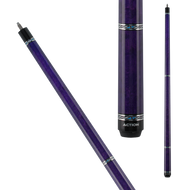 Action Pool Cues VAL25 Purple w/ Blue & Silver Rings