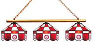 Alabama Crimson Tide 3-Light Executive Game Table Light with Circle A Logo