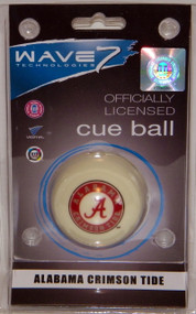 Alabama Crimson Tide Cue Ball
