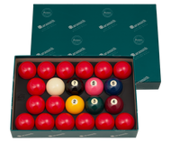 Aramith 2 1/4  Premier Numbered Snooker Ball Set BBANS2.25