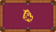 Arizona State Sun Devils Billiard Table Felt - Recreational