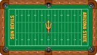 Arizona State Sun Devils Billiard Table Felt - Recreational 1