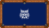 Arizona Wildcats Billiard Table Felt with Wildcat and Blue Background - Professional