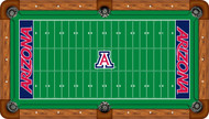 Arizona Wildcats Billiard Table Felt with Football Field - Professional
