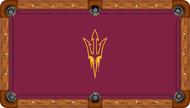 Arizona State Sun Devils Billiard Table Felt with Pitchfork - Recreational