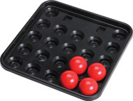 Action Black Plastic Snooker Ball Tray BBSNKT