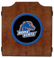 Boise State Broncos Dart Board Cabinet