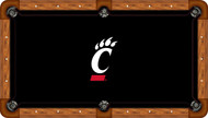 Cincinnati Bearcats Billiard Table Felt - Professional
