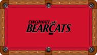 Cincinnati Bearcats Billiard Table Cloth - Recreational