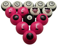 Cincinnati Bearcats Billiard Ball Set