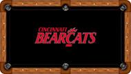 Cincinnati Bearcats Billiard Table Felt - Professional 1