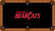 Cincinnati Bearcats Billiard Table Felt- Recreational