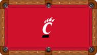 Cincinnati Bearcats Billiard Table Felt - Recreational 1