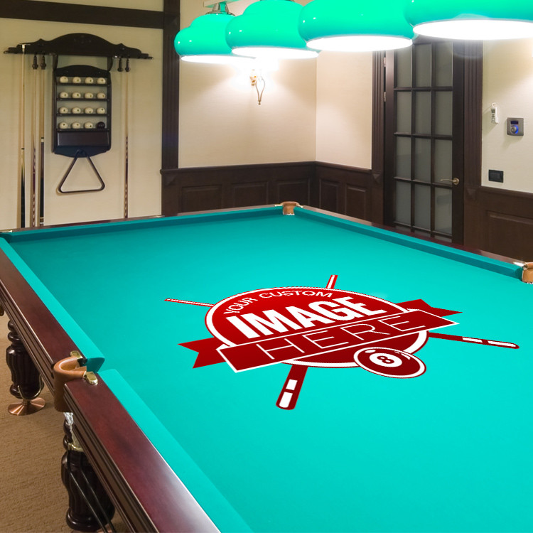 See 8 more pictures & Custom Pool Table Cloth