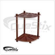 Floor Corner Cue Rack  for 8 Cues  FR8