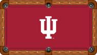 Indiana Hoosiers Billiard Table Felt - Professional 1