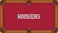 Indiana Hoosiers Billiard Table Felt - Professional 2