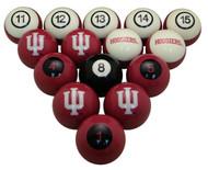Indiana Hoosiers Billiard Ball Set
