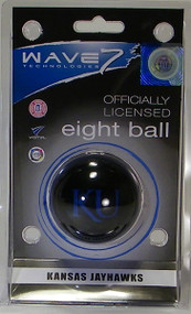Kansas Jawhawks Eight Ball