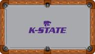 Kansas State Wildcats Billiard Table Felt - Professional